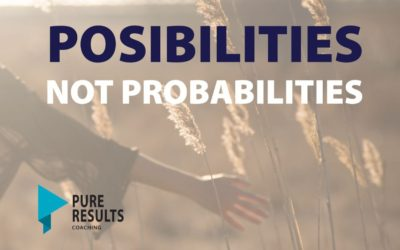 Possibilities not Probabilities