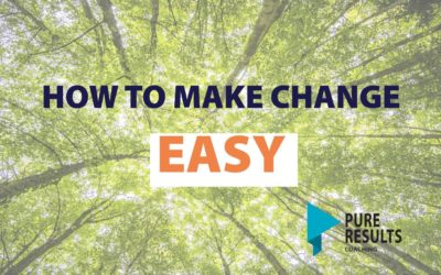 How to Make Change Easy