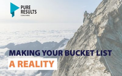 Making your bucket list a reality
