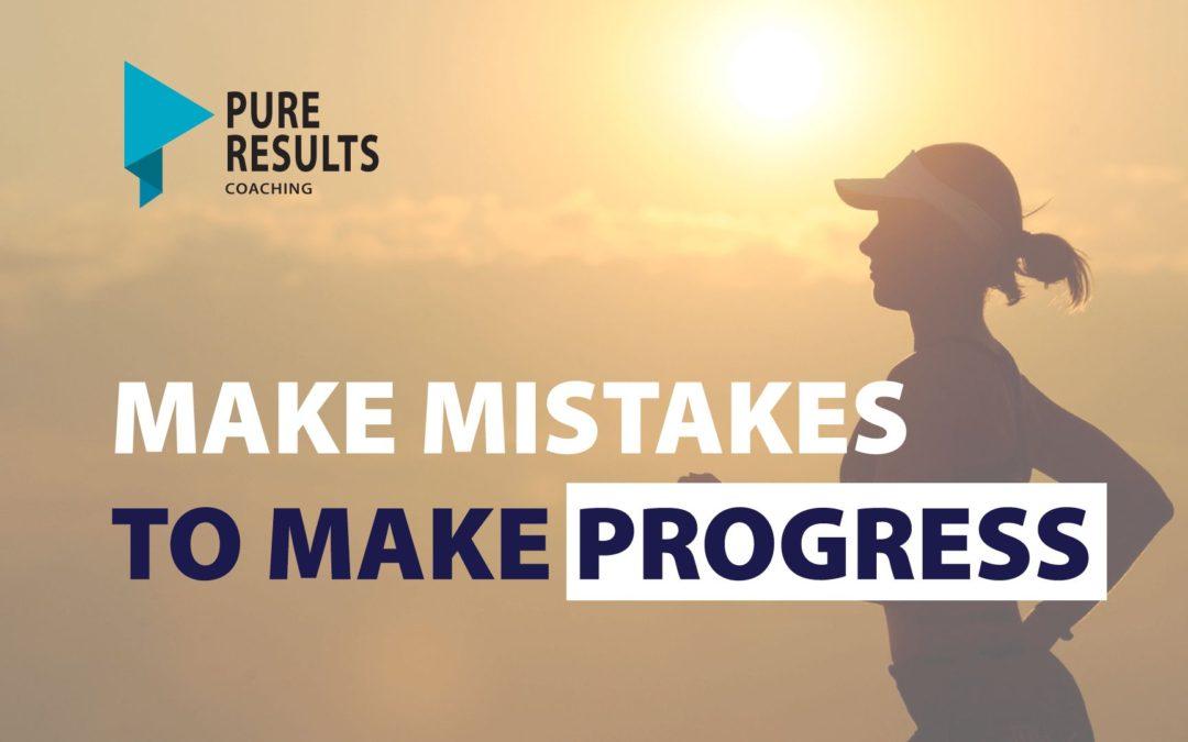 Make New Mistakes to Make Progress!