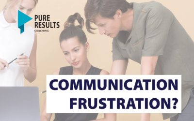 Communication Frustration? How to Find the Win/Win Solutions