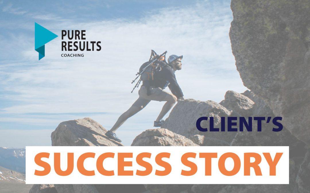 A Client's Success Story